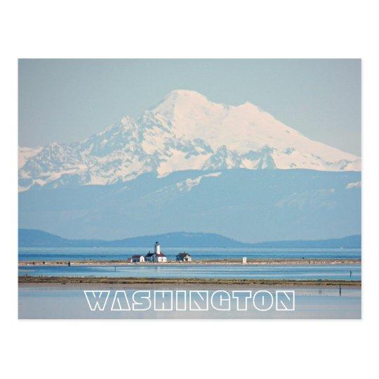 Postal Viaje del estado de Washington