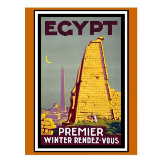 Postal Viaje del vintage de Egipto