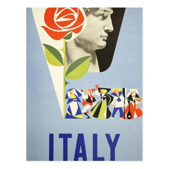 Postal Viaje del vintage - Italia