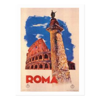 Postal Viaje Italia, Roma del vintage -