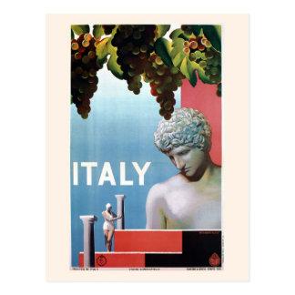 Postal Viaje italiano de Italia de los años 30 del