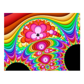 Postal Viaje maravilloso del fractal