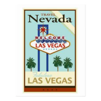 Postal Viaje Nevada
