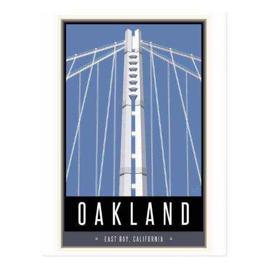 Postal Viaje Oakland