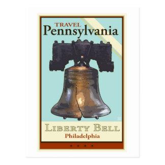 Postal Viaje Pennsylvania