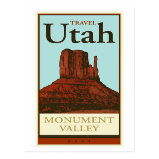 Postal Viaje Utah