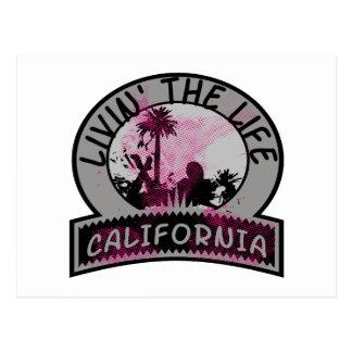 Postal Vida de California