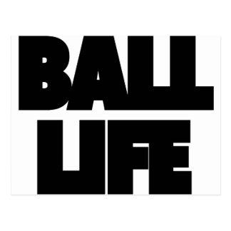 Postal Vida de la bola