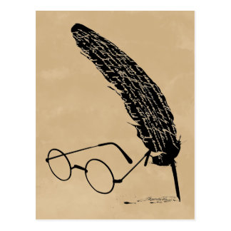 Postal Vidrios y canilla de Harry Potter el |