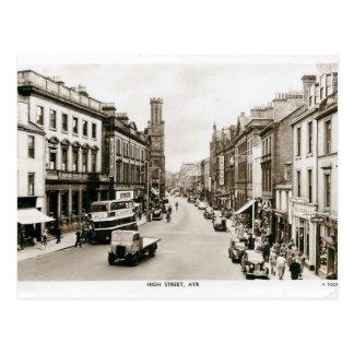 Postal vieja - alto St, Ayr, Escocia