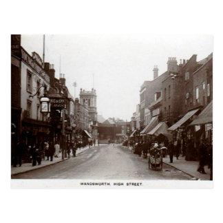 Postal vieja - alto St de Wandsworth, Londres