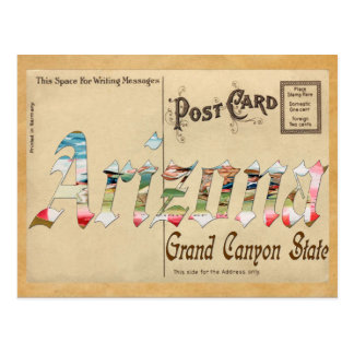 Postal vieja Arizona