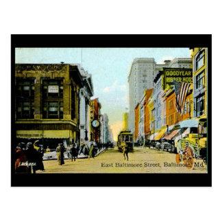 Postal vieja - Baltimore, Maryland, los E.E.U.U.