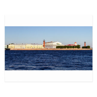 Postal Vieja bolsa de acción de St Petersburg