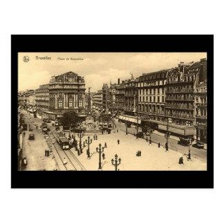 Postal vieja - Bruselas