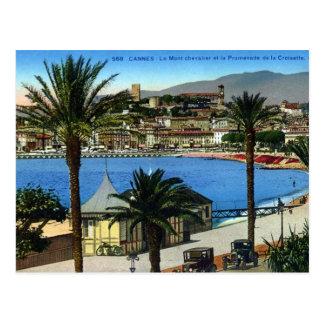 Postal vieja - Cannes