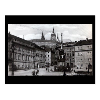 Postal vieja, cuadrado de Malostranske, Praga