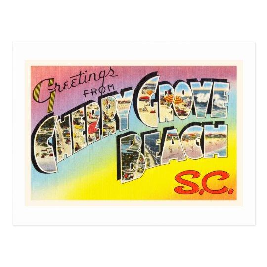 Postal vieja del SC de Carolina del Sur de la