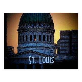 Postal vieja del tribunal de St. Louis