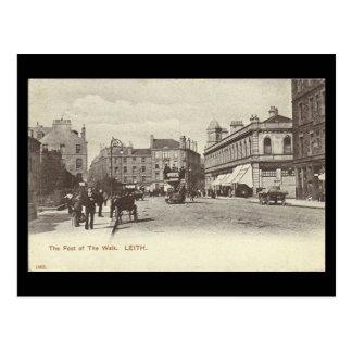 Postal vieja, Edimburgo, Leith, pie del paseo