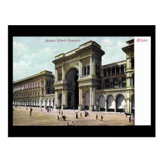 Postal vieja - Galleria Vittorio Manuel