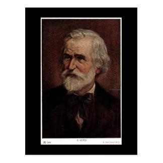 Postal vieja - Giuseppe Verdi 1813-1901