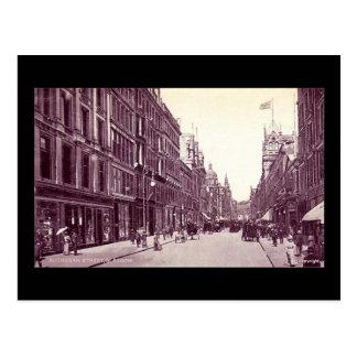 Postal vieja, Glasgow, calle de Buchanan