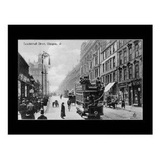Postal vieja, Glasgow, calle de Sauchiehall