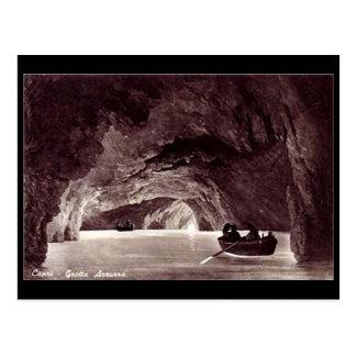 Postal vieja - gruta azul, Capri, Italia