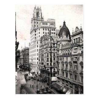 Postal vieja - Madrid, España