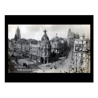 Postal vieja - Madrid