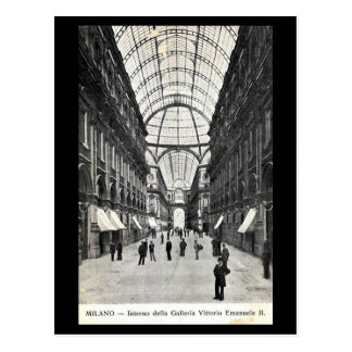 Postal vieja - Milano, Galleria