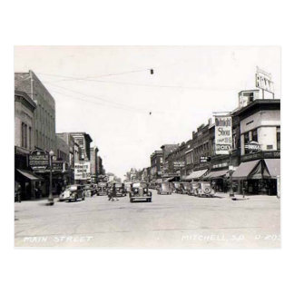 Postal vieja - Mitchell, Dakota del Sur