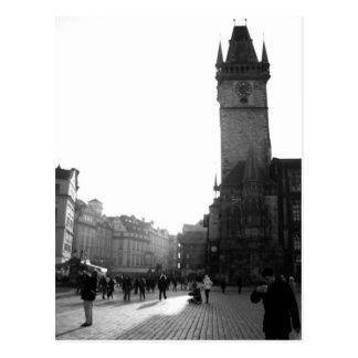 Postal Vieja plaza - PRAGA