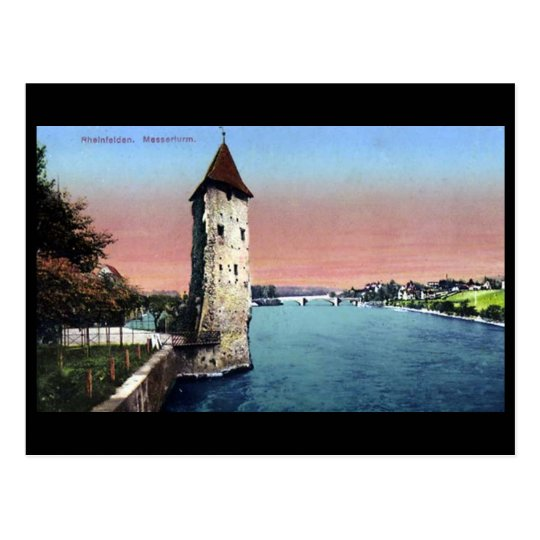 Postal vieja - Rheinfelden, Argovia, Suiza