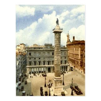 Postal vieja, Roma, plaza Colonna