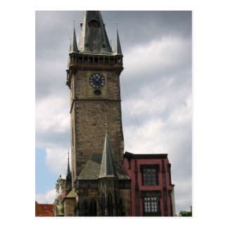 Postal Viejo ayuntamiento Praga