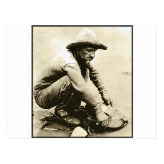 Postal Viejo minero