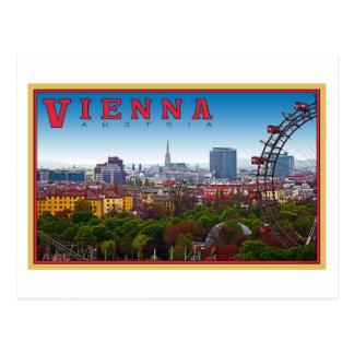Postal Viena - paisaje urbano