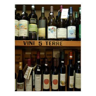 Postal Vinos Italia de Cinque Terre