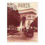 Postal Vintage Arco del Triunfo, París, 1903