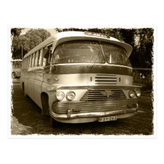 Postal Vintage autobús at Malta