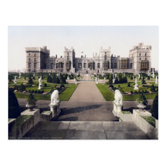 Postal Vintage castillo real de Inglaterra, Windsor