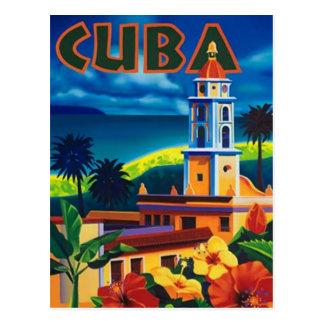 Postal Vintage Cuba -