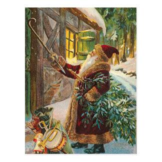 Postal vintage de Navidad