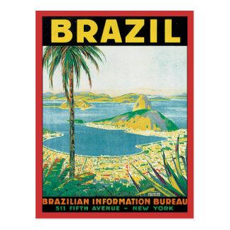 Postal Vintage el Brasil