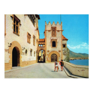 Postal Vintage España, Sitges, museo