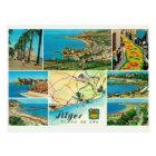 Postal Vintage España,    Sitges, Playo de oro