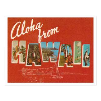 Postal Vintage Hawaii