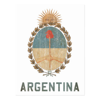 Postal Vintage la Argentina